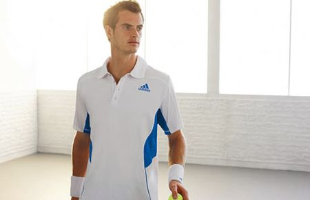 Andy Murray Adidas Launch