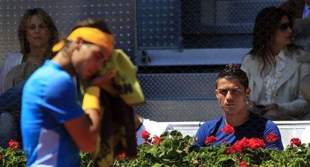 Rafael Nadal Cristiano Ronaldo Sf Madrid.10 r