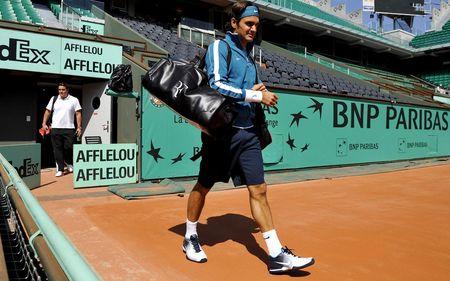 Roger Federer Practice RG.10 2