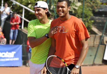 Rafael Nadal Jo Wilfried Tsonga Kids RG.10 2 fft