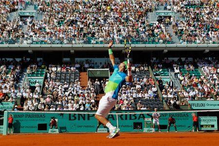 Rafael Nadal Sf Win RG.10 2 g