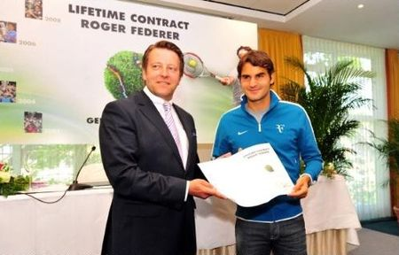 Roger Federer Halle Lifetime Contract