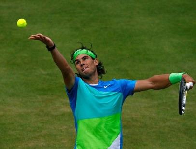 Rafael Nadal 3rd R Win Queens Club.10 g