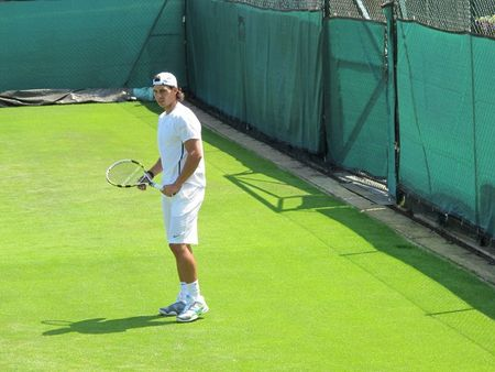 Rafael Nadal Practices Wimbledon.10 1 fb
