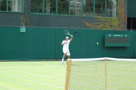 Rafael Nadal Practice June 18 Wimbledon.10 1 fb