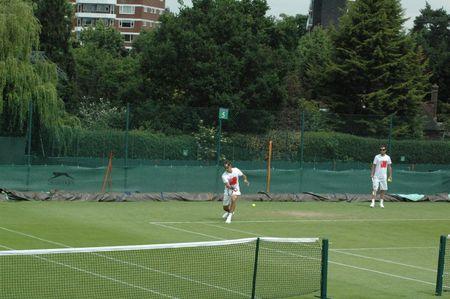 Roger Federer Practice June 18 Wimbledon.10 2 fb