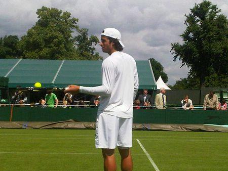 Feliciano Lopez Practice Wimbledon.10