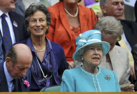 9 Queen Elizabeth and Verginia Wade