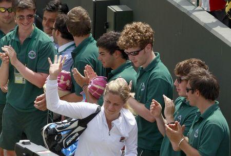 Kim Clijsters Wins 3rd R Wimbledon.10 r