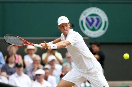 Tomas Berdych Sf Win Wimbledon.10 ap