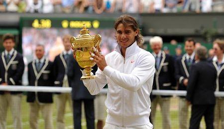 Rafael Nadal Wins Wimbledon.10 g