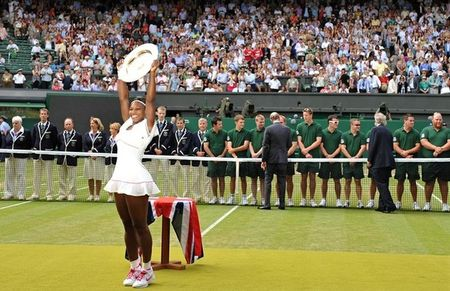 Serena Williams Wins Wimbledon.10 2 g