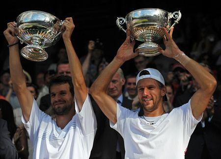 Philipp Petzschner Jurgen Melzer Win Dubs Wimbledon.10 g