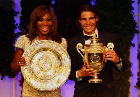 Rafael Nadal Serena Williams Wimbledon.10 Ball 3