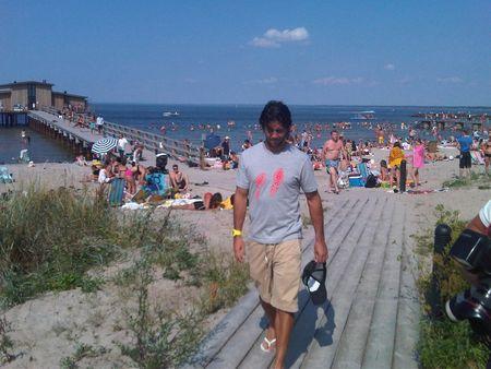 Fernando Verdasco Bastad Beach 2