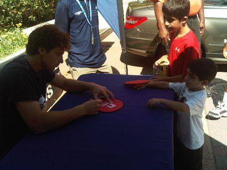 Ernests Gulbis Autographs LA.10 tw