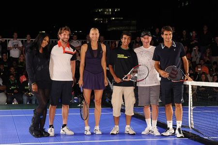 Nike Event Roger Federer Marian Sharapova Serena Williams USO.10 g