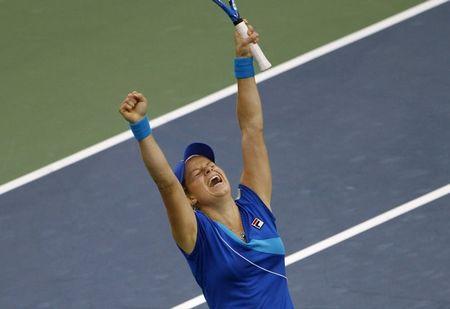 Kim Clijsters USO.10 SF Win r