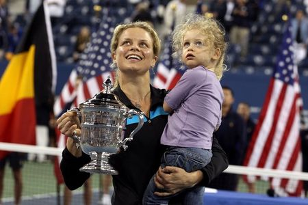 Kim Clijsters USO.10 Win with Jada g