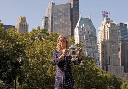 Kim Clijsters USO.10 Trophy Central Park g