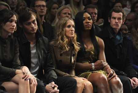 Serena Williams Andy Murray Burberry Show 3 g