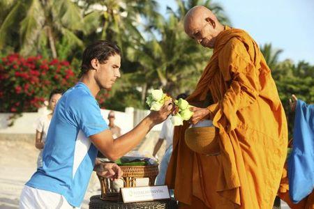 Rafael Nadal Bangkok.10 Monks 2