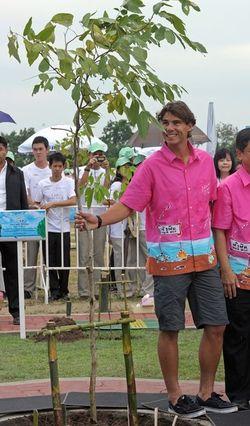 Rafael Nadal Bangkok.10 Tree Planting 1 g