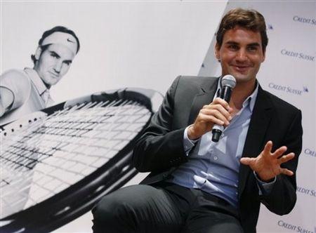 Roger Federer Hong Kong Presser Oct.10 1 ap