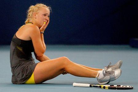 Caroline Wozniacki Beijing.10 Qf Win g