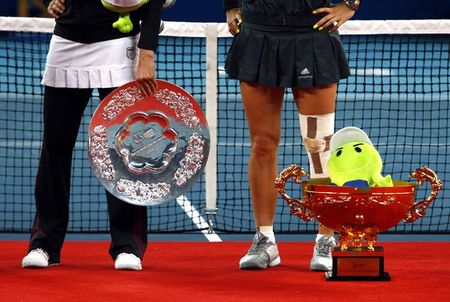 Caroline Wozniacki Beijing.10 Winner r