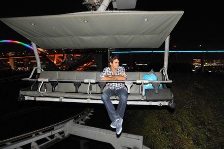 Roger Federer Shanghia.10 Swiss Pavillion
