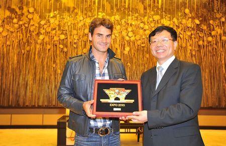 Roger Federer Shanghai.10 Expo Plaque g