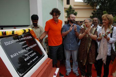 Rafael Nadal in India