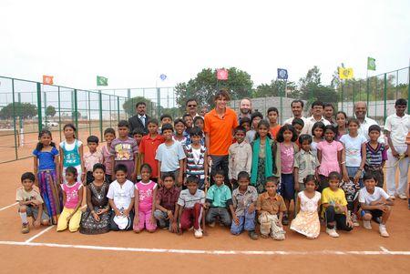 Rafael Nadal in India 2