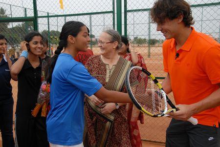 Rafael Nadal in India 4