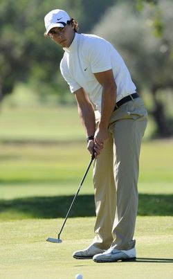 Rafael Nadal Sergio Garcia Golf 3 g