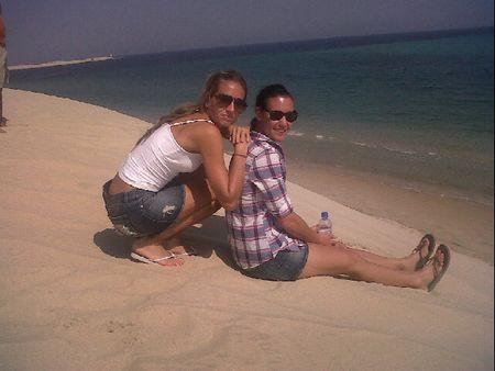 Dulko Pennetta Doha.10 Beach tw