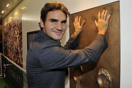 Roger Federer Swiss Walk of Fame 1