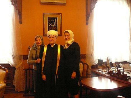 Dinara Safina Moscow Cathedral Mosque