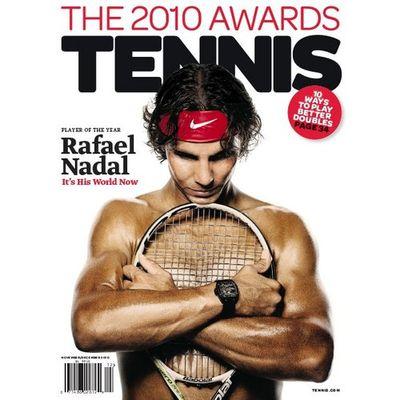 Rafael Nadal Tennis Cover