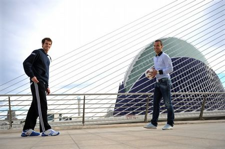 Andy Murray Valencia.10 Football 3 g