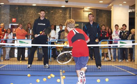 Robin Soderling Valencia.10 Kids Day 1