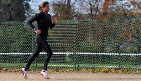 Amelie Mauresmo NYC Marathon