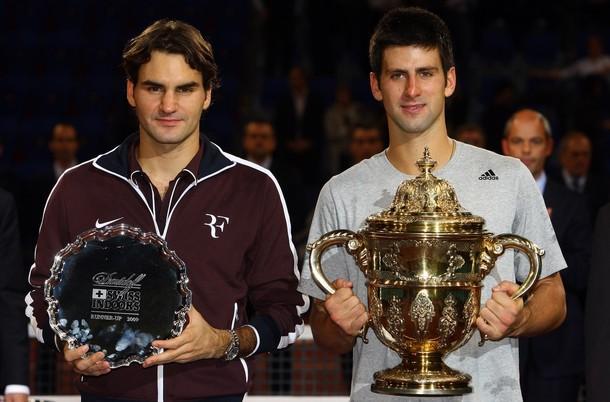Novak Djokovic Roger Federer Basel.09 F g