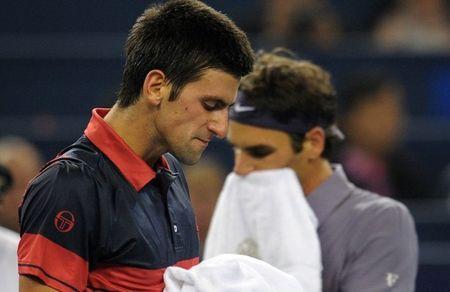 Roger Federer Novak Djokovic Shanghai.10 Sf g