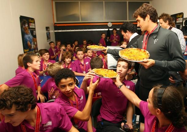 Roger Federer Basel.10 Winner Pizza 4 g