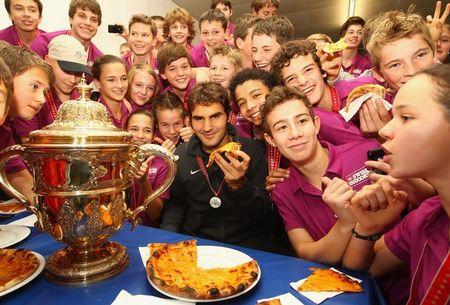 Roger Federer Basel.10 Winner Pizza 5 g