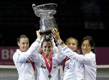 Fed Cup Italian Winners