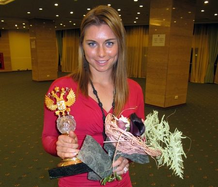 Vera Zvonareva Win Russian Tennis Player of the Year