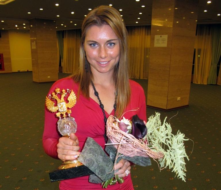 Vera Zvonareva Win Russian Tennis Player of the Year